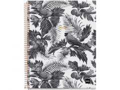 Miquelrius Notebook A4 Tropical Square Geruit