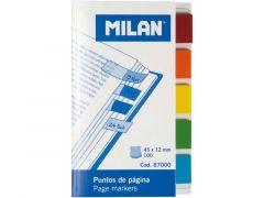 Milan Bookmarks Transparant 45X12Mm 5Klx20St