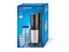 Soda Stream Crystal Zw Megapack+ 2 Glas Karaf