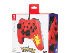Nintendo Switch Wired Controller-Red Pikachu