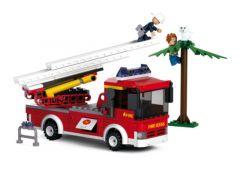 Sluban Fire Hoogwerker Met Kat In De Boom