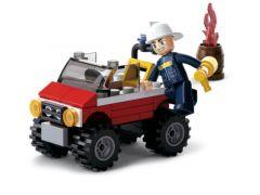 Sluban Fire Brandweer Jeep
