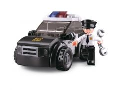 Sluban Police Patrouille Wagen