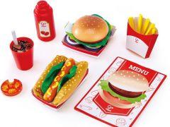 Hape Houten Fast Food Set