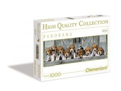Puzzel 1000 St. Panorama Beagles