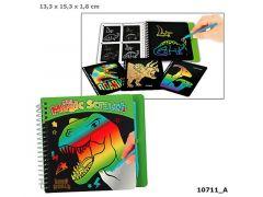Dino World Mini Magic-Scratch Book