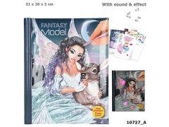 Fantasymodel Tekenboek Met Licht En Geluid Iceprincess