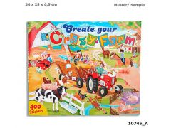 Create Your Crazy Farm Drawing Book