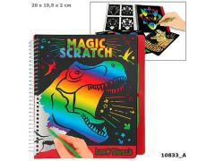 Dino World Magic-Scratch Book