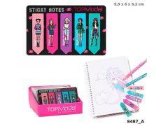 Topmodel Sticky Notes