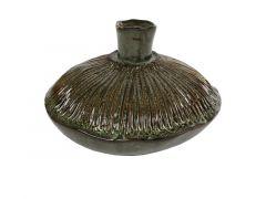 Hamilton Vase Round Fungus Low L Ceramic