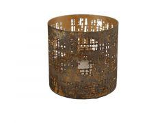 Hamilton Candleholder Ella Sandbrown/Gold