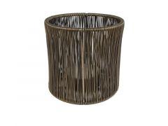 Hamilton Candleholder Round Tina Wire L Brass