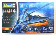 Rev 03889 Kamov Ka-58 Stealth Helicopter