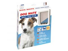 Dog Mate Hondendeur Small Wit