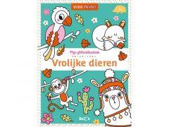 Glitterboek: Vrolijke Dieren