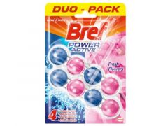 Bref 50Gx2 Blue Activ Pink Flowers