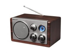 Roadstar Vintage Radio Wood Finition