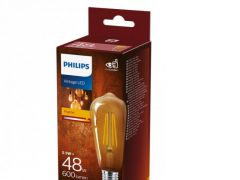 Philips Lamp Ledclassic 48W St64 E27 825 Nd Srt4