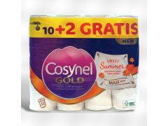Cosynel Toiletpapier 3Lg Wit 10+2 Gratis