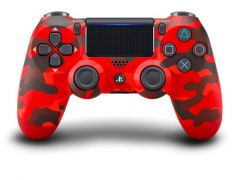 Dualshock 4 New Red Camouflage