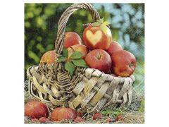 Servetten 33X33Cm 20St. Apple Basket