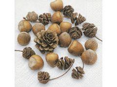 Servetten 33X33Cm 20St. Cones And Nuts