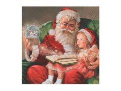 Servetten 33X33Cm 20St. A Christmas Carol
