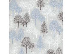 Servetten 33X33Cm 20St. Winter Trees