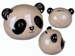 Spaarpot Panda 16X12Cm