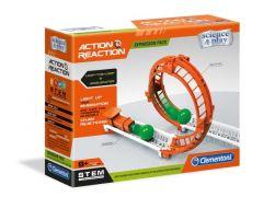 Clementoni Action& Reaction Knikkerbanen Looping En Versneller