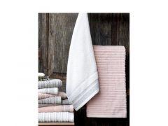 Duplex Handdoek 50X100 Linen Col 6 Grijs