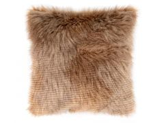 Kussen (Gevuld) Fox Fur - 45X45Cm, Light Brown