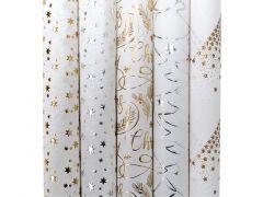 Kadopapier White Christmas 1.5Mx0.7M