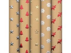 Kadopapier Kerst Shining Mom 1.5Mx0.7M