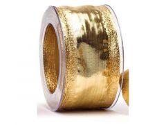 Gouden Kerstlint 40Mmx2M