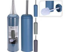 Toiletborstel In Houder D9.3Xh40Cm Metaal 3 Assortiment Prijs Per Stuk Kleur