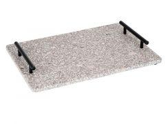 Medical Stone Tray Handles Zwart Metaal