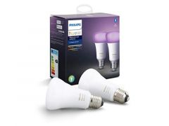 Philips Hue White And Color Ambiance 9W A60 E27 2P Eur