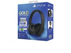 Ps4 Headset Gold Wireless 2.0 + Fornite
