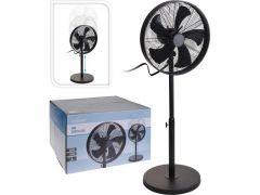 Ventilator Staand 40Cm Zwart Verstelbaar