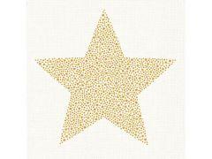 Braun Briljant Star Creme 25X25Cm