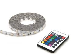 Led Strip Rgb 2M Rc Ip44