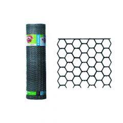 Hexanet Verzinkt 25-0.80 H.50Cm L 50M