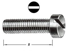 Metaalbouten Cil.Kop Met Moer M 4 X 40 (type 2)