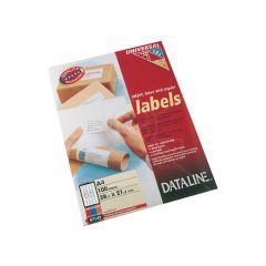 Dt Uni.Las.Labels 38.1X21.2 100Bl