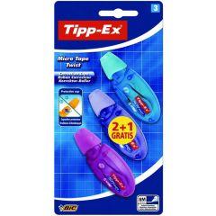Tipp-Ex Micro Tape Twist Blister 2+1