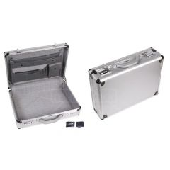 Aluminium diplomatenkoffertje 460 x 335 x 110mm