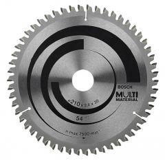 Multi Material Cirkelzaagblad 54t (type 3)