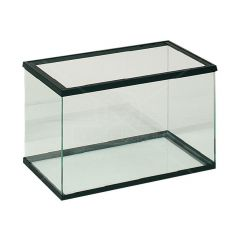Volglas aquarium 30x15x20cm zwart